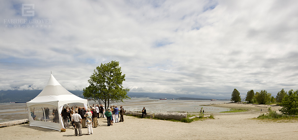 Spanish Banks wedding photos by vancouver wedding photographer