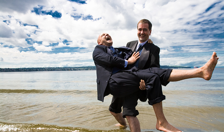 same-sex wedding photography in Vancouver BC Canada