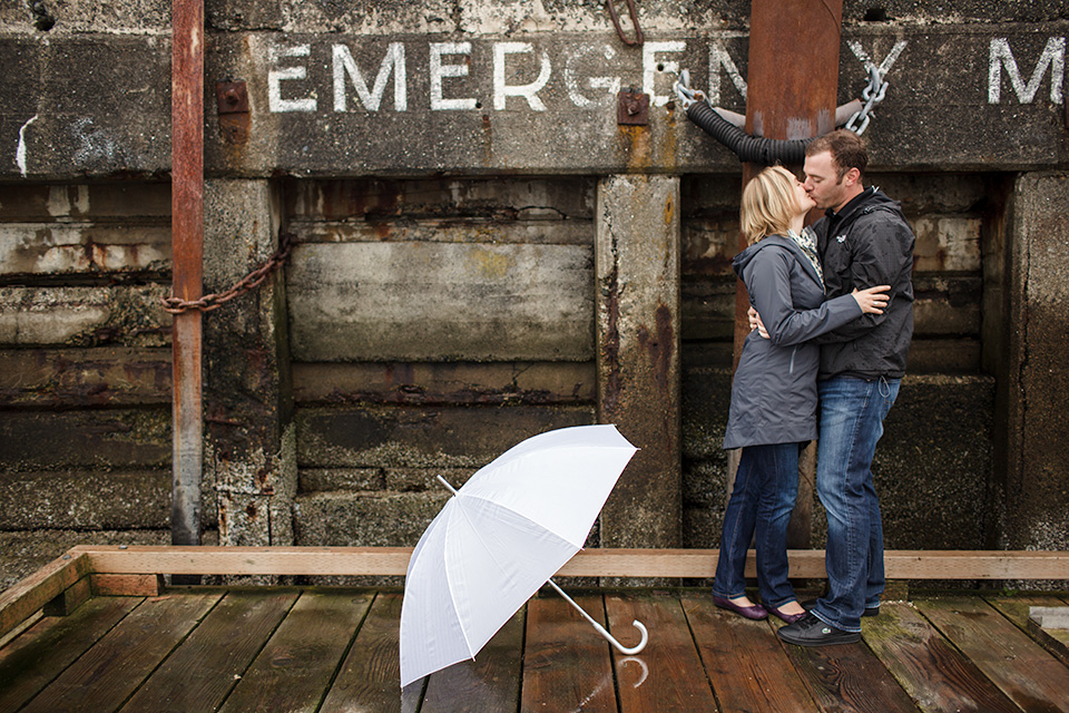 west vancouver engagement shoot